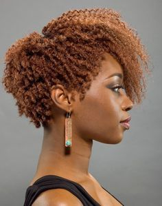 Shaped & Tapered Natural Hair Cuts 17