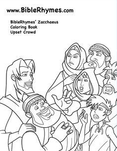 18 Best Zacchaeus Bible story children's ideas images