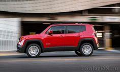 Кроссовер Джип Ренегад 2015 / Jeep Renegade 2015