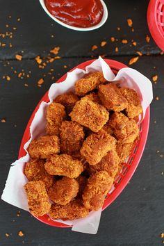 Sweet Potato Parmesan Tater Tots