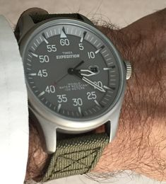 Look nice in a stunning wrist watch. Plenty of types of wristwatches are obtainable, from basic models, to those that come with hi-tech. Amazing Watches, Cool Watches, Watches For Men, Wrist Watches, Timex Military Watch, Timex Watches, Men's Watches, Timex Expedition, Field Watches