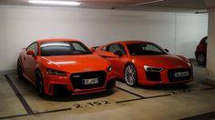 Audi TT RS & R8 V10 plus