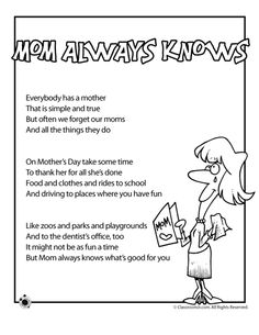 valentine poems mom