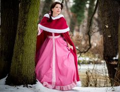 Princess Belle Pink Dress   Princess If you decided to make a Belle cosplay, which of her dresses ...