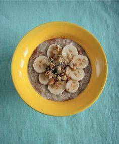 10 tips til kolesterolsenkende mat du kan nyte – Berit Nordstrand Oatmeal, Breakfast, Tips, Food, Breakfast Cafe, Essen, Yemek, Rolled Oats, The Oatmeal