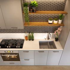 Small Basement Kitchen, Basement Kitchenette, Small Kitchen Layouts, Small Apartment Kitchen, New Kitchen, Kitchenette Ideas, Small Basement Apartments, Very Small Kitchen Design, Small Kitchenette
