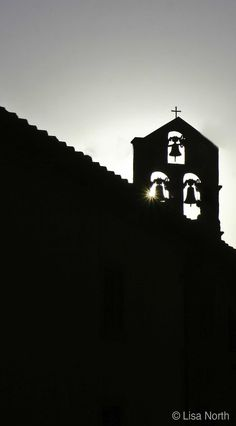 Church Bells at Dusk - Cortona, Italy