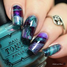 Its @digitaldozen week and the theme is Indie! I love my indies and indie bath and body so I decided to create a mani inspired by some indie soap. (Check my blog for inspo picture!) My finished mani is this radient drip marble using @tonicpolish Superstar Light of Lyra Rainbowfish Deep Sea-Crets and The Places Youll Go. How do you like this? Leave me a comment please! . . #digitaldozen #thedigitaldozen #digitaldozenindies #indienaillacquer #indielove #indiepolish #indiepolish411…