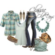 Western Wear - Classic Style by shebremer on Polyvore