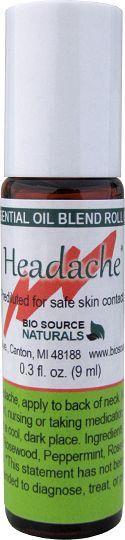 Headache Relief Blend - 0.3 fl oz (9 ml) Roll On