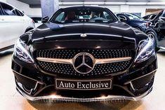 Mercedes Benz C 300 Coupé AMG  | 245 c.v | Negro Obsidiana | Piel Roja | Techo Panorámico | Commad | HeadUpDisplay | Carbono | Suspensión Airmatic  | Auto Exclusive BCN | Concesionario Ocasión Mercedes-Benz Barcelona | http://autoexclusivebcn.com