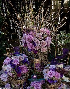 Wedding Color scheme 1: Left row down : plum, lavender ...