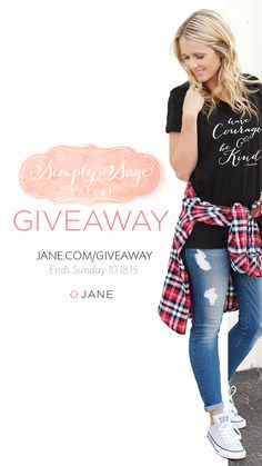 I entered the Jane.com #Giveaway for a chance to win PayPal Cash!