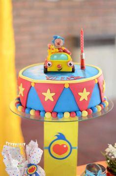 Plim Plim para Vicente | CatchMyParty.com 1st Birthday Themes, 2nd Birthday, Birthday Parties, Happy Birthday, Circus Theme Party, Party Themes, Party Ideas, Ideas Para Fiestas, First Birthdays