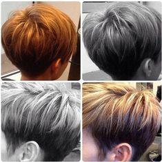 Stilvolle Frisuren Farbe für kurzes Haar 2015