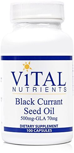 Find best price for Vital Nutrients - Black Currant Seed Oil - Essential Omega 6 Fatty Acid - 100 Softgel Capsules Black Currant Oil, Black Currants, Sports Nutrition, Whey Protein, Seed Oil, Healthy Life, Herbalism, The 100, Essential Oils