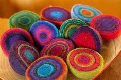 Wet felting: Geodes are little gems for gift-giving - New Jersey Herald -