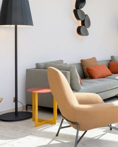 #interiordesignmartinlaroche #ligting #ketall #lucrevillondapreval  #furniture #sofa #table #minotti