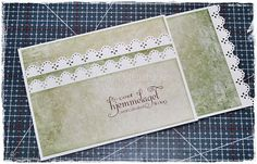 Mayas Hobbyblogg: Steg for steg trippel lommekort/Tutorial Triple pocket card