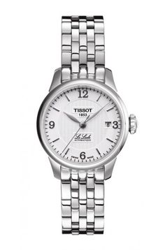 Tissot Le Locle Women's Automatic White Dial Watch with Stainless Steel Bracelet
