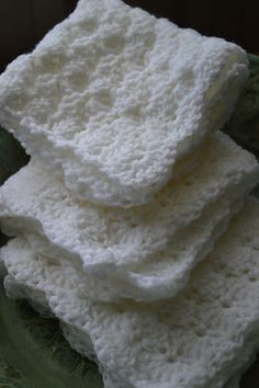 Tiny Crocheted Miscarriage Blankets