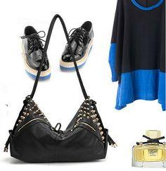 Studded Shoulder Bag Rebecca Minkoff, Shoulder Bag, Purses, Bags, Collection, Fashion, Handbags, Handbags, Moda