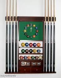A great Pool Cue Rack