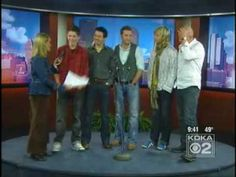 Damian McGinty - interview archives: Celtic Thunder on KDKA-TV2 / Pittsburgh Today Live, 20 October 2009 (restricted playback - click through to watch on YouTube)