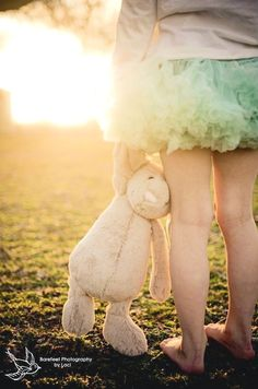 Artistic Vignette | Sunset Shot | Stuffed Bunny | Easter Holiday | Photo Shoot | Kid Portraits | Photography Ideas