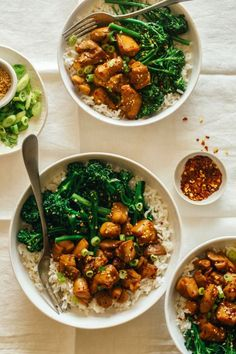 Spicy Chicken Teriyaki Bowls: These dinner bowls will spice up your Tuesday night