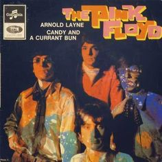 The Pink Floyd: Arnold Layne, picture sleeve 45 RPM from France, 1967