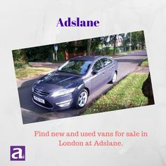 Find #UsedVansforSale in London on Adslane. It is a free advertising platform helping individuals find cars, properties, vehicles, etc for sale and much more. Visit today and start searching.