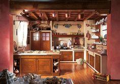 CUCINA IN MURATURA | Cucine | Pinterest | Cucina, Ceramica and Country