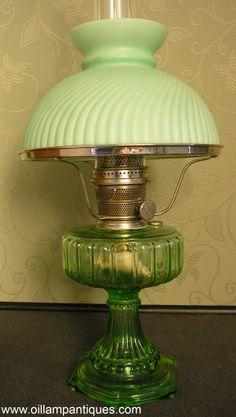 Aladdin nickel Model 11 kerosene mantle lamp | Aladdin Mantle ...