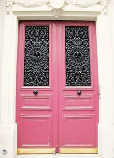 Why the hell don't I have pink doors??