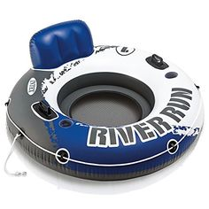 Have fun floating in the pool or at the lake with the Intex River Run I. Designed with a built-in backrest for easy cruising and a mesh bottom that keeps you cool. An all-around grab rope is included for ease of use.   toys4mykids.com