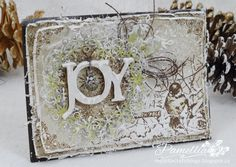 Snowflake Wreath of JOY
