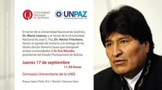 #Bolivia Informa: #EvoMorales recibirá dos Doctor #HonorisCausa mañana - #Argentina