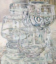 View Beer and Brandy Glasses by Janet Fish on artnet. Browse more artworks Janet Fish from DC Moore Gallery. Reflection Art, Water Reflections, Ap Studio Art, Still Life Drawing, A Level Art, Gcse Art, Teaching Art, Art Auction, Art Market
