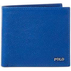 Polo Ralph Lauren Men's Metal-Plaque Leather Billfold ($98) ❤ liked on Polyvore featuring men's fashion, men's bags, men's wallets, navy, polo ralph lauren mens wallet, mens billfold, mens wallets, mens leather billfold and mens slim wallet