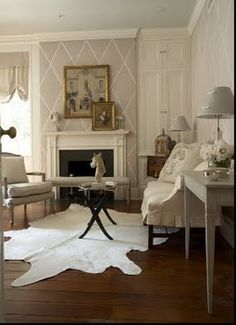 white cow hide rugs