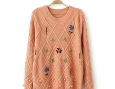 Leisure Embroidered Sweatshirts Pri..