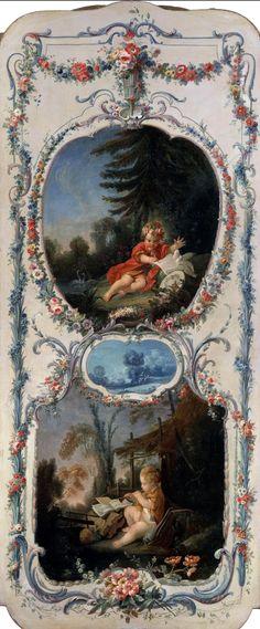 Франсуа Буше (Francois Boucher, 1703-1770, French) - Пейзажи, пасторали и аллегории \1\. Обсуждение на LiveInternet - Российский Сервис Онлайн-Дневников