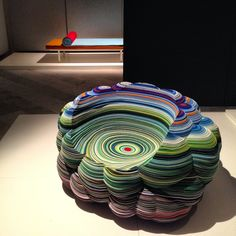 Layers Cloud Chair by Richard Hutten. Milan Design Week Spotted by Cozy Furniture, Funky Furniture, Unique Furniture, Furniture Design, Scandinavian Chairs, Home And Deco, Artwork Design, Art And Architecture, Chair Design