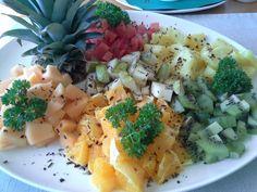Varmt välkommande med en fin fruktfat på Hotel Elvira på Åland, #livsstilsresor #ResGladh #smakglädje