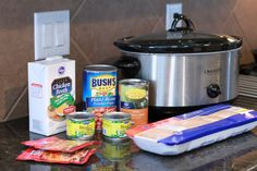 Easy White Chicken Chili for the crock pot