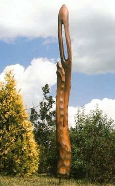 Hodiny, zrcadla, pendlovky, sochy, skulptury, okrasné rostliny - Fotoalbum - Zahrada - Skulptura dub 2