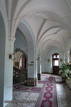 Smolenický castle - interior