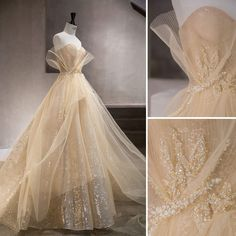 Wedding dress inspiration by we couture
