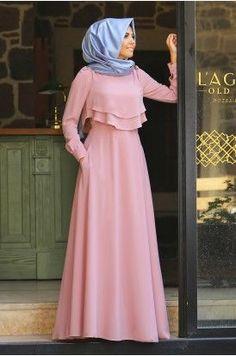 New Dress Hijab Party Remaja Ideas Muslim Women Fashion, Islamic Fashion, Indian Fashion Dresses, Abaya Fashion, Modest Fashion, Fashion Outfits, Mode Abaya, Mode Hijab, Moslem Fashion